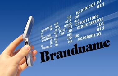 sms brand name